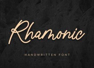Rhamonic Font