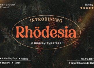 Rhodesia Font