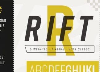 Rift & Rift Soft Font