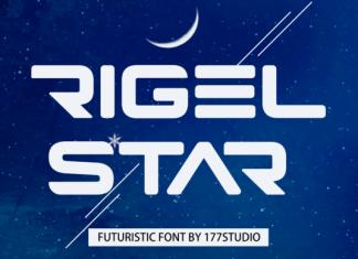 Rigel Star Font