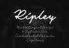 Ripley 3 Fonts