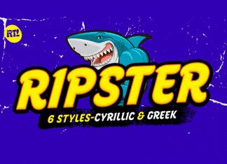 Ripster font Cyrillic