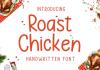 Roast Chicken Font