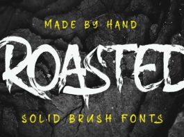 Roasted Brush Font