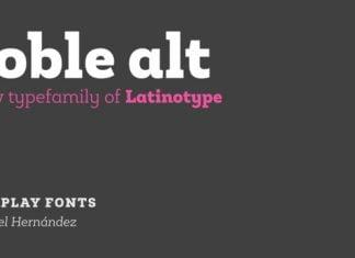 Roble Alt Font Family