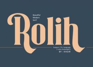 Rolih Font