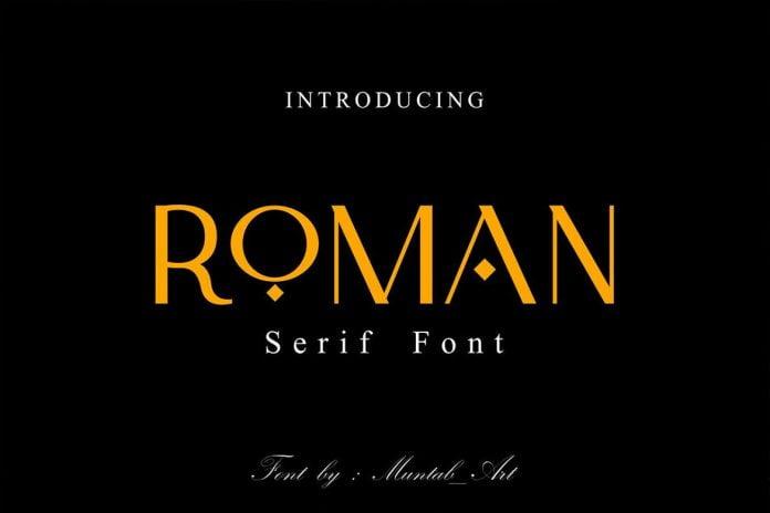 Roman Modern Serif Font