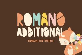 Romano Additional Font