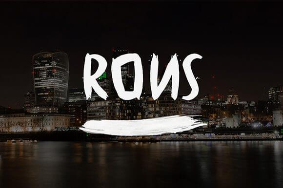 Rons Font