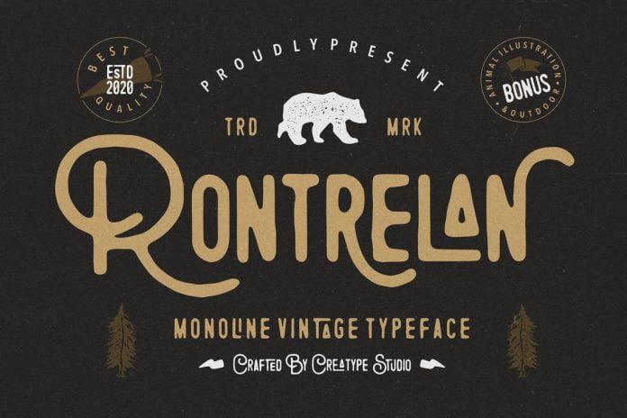 Rontrelan Font