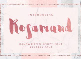 Rosamund Script & Extras Font