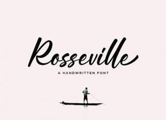 Rosseville - Script Font