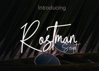 Rostman Font
