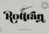 Rottran Font