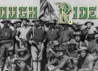 Rough Riders Font