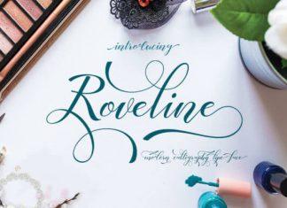 Roveline Script Font