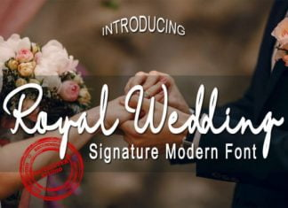Royal Wedding Font