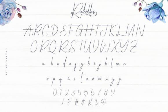 Rubellas Font
