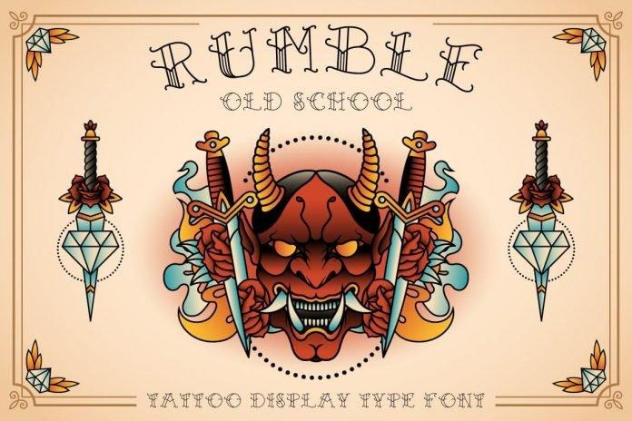 Rumble Old School Font