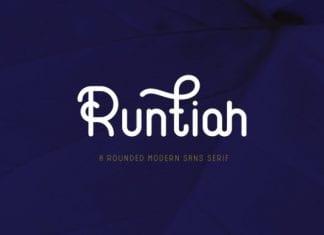 Runtiah Font