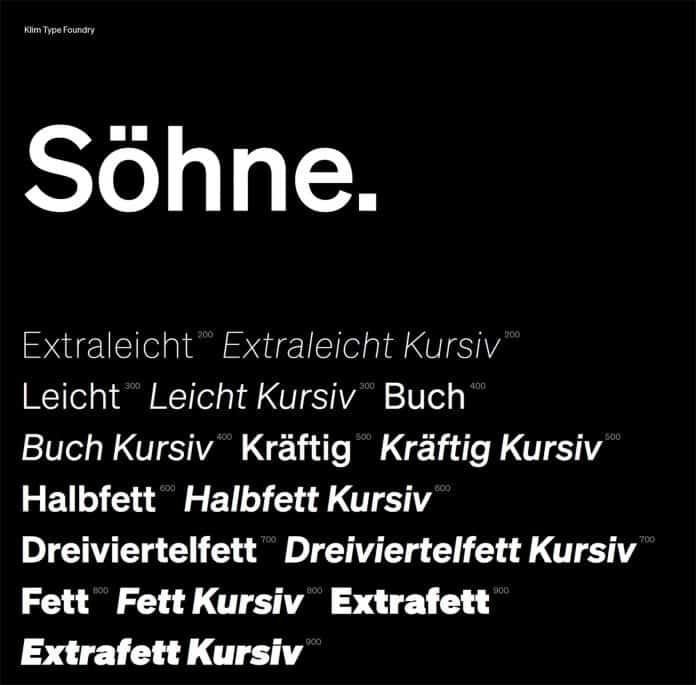 Söhne Font