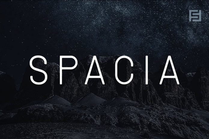 SPACIA - Unique & Modern Display Typeface