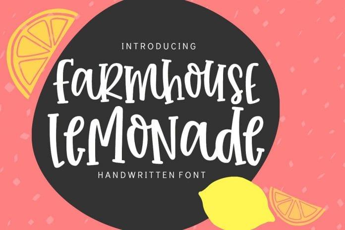 SS Farmhouse Lemonade Font