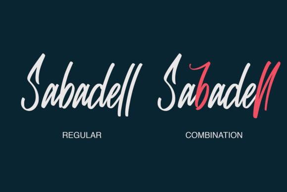 Sabadell Font