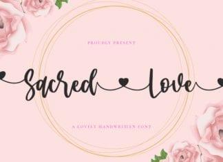 Sacred Love Font