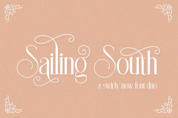 Sailing South Font