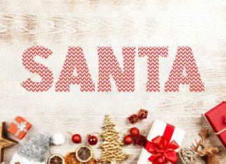 Santa Ugly Sweater Font