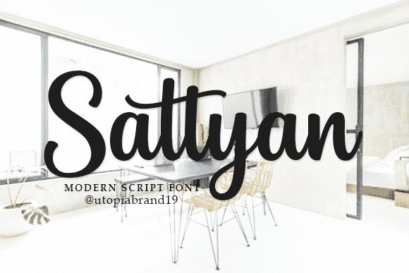 Sattyan Font