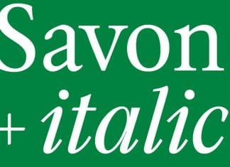Savon trials designed Font