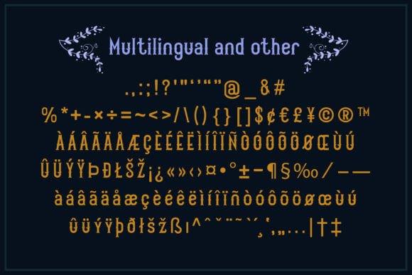 Scarytale Font