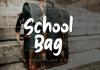 School Bag Font