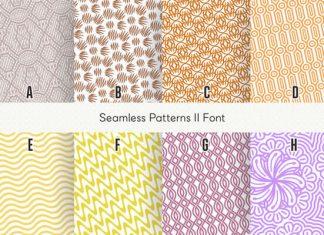 Seamless Patterns II Font