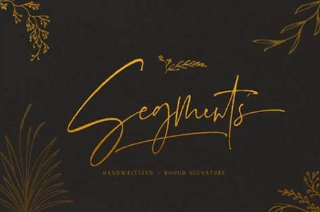 Segments Font