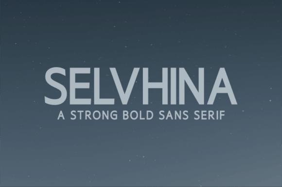 Selvhina Font