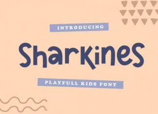 Sharkines Font