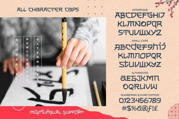 Shikamaru Font