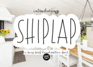 Shiplap Font
