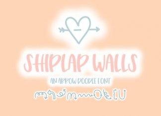 Shiplap Walls Font