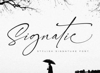 Signatie Font
