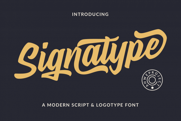 Signatype Font
