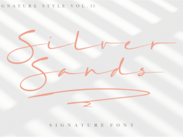 Silver Sands Font