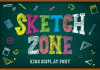Sketch Zone Font