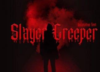 Slayer Creeper font