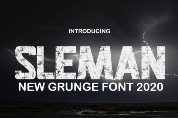 Sleman Font