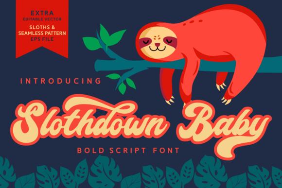 Slothdown Baby Font