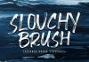 Slouchy Brush Font